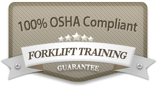 Askthesafetyman's Forklift Training Pacakage is 100% OSHA Training Compliant!