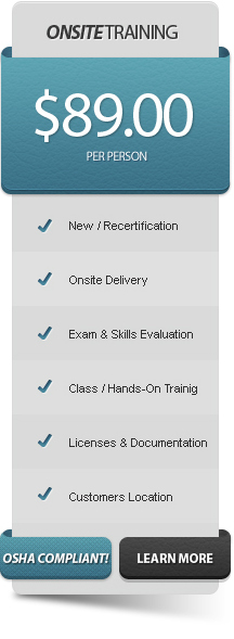 Forklift Training Onsite, Online, Classes & Training Package